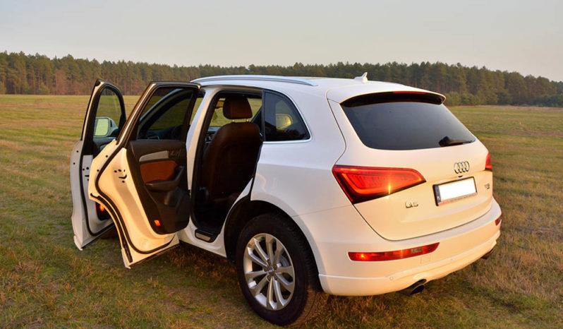 Audi Q5 8R białe full